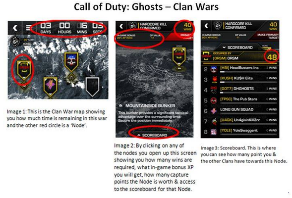 how to join a clan in cod ghosts