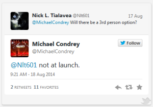 condrey tweet