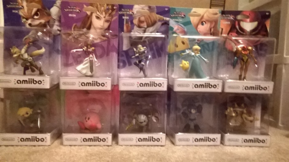 My personal collection minus Link and Shulk.