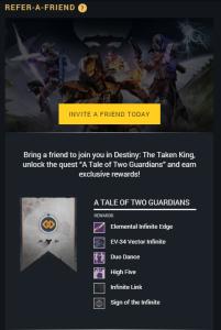 Destiny Refer A Friend