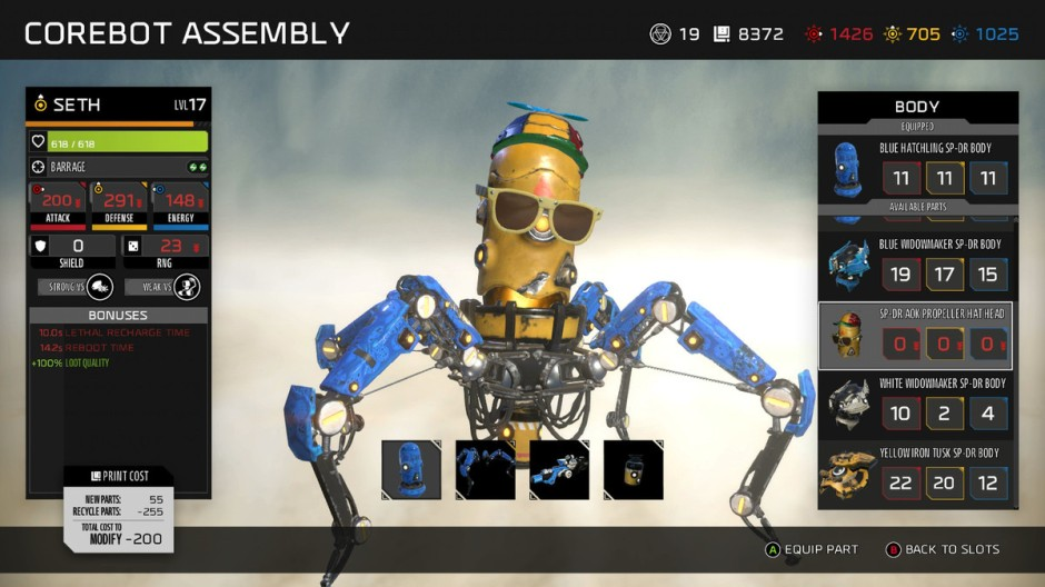 recore-customization